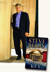 *The Jefferson Key* author Steve Berry