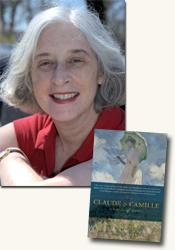 *Claude & Camille: A Novel of Monet* author Stephanie Cowell (photo credit: Russell Clay)