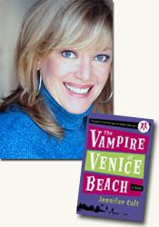 *The Vampire of Venice Beach* author Jennifer Colt