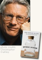 *Spider Season (A Benjamin Justice Novel)* author John Morgan Wilson (photo credit Christopher Oakley)