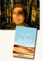 *The End of Sleep* author Rowan Somerville