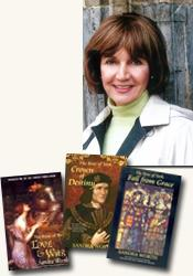 *The Rose of York trilogy* author Sandra Worth