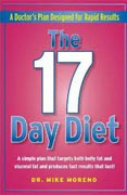 Buy *The 17 Day Diet: A Doctor's Plan Designed for Rapid Results* by Mike Moreno online