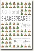 *A Choice of Shakespeare's Verse* by Ted Hughes