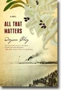 Buy *All That Matters* by Wayson Choy online
