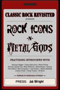 Buy *Classic Rock Revisited Presents Vol. 1: Rock Icons and Metal Gods* by Jeb Wright online