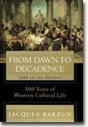 From Dawn to Decadence bookcover