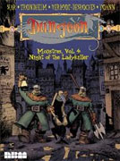 *Night of the Ladykiller (Dungeon: Monstres, Volume 4)* by Lewis Trondheim and Joann Sfar, illustrated by Jean Emmanuel Vermot-Desoches and Yoann