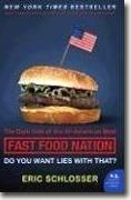 Fast Food Nation bookcover