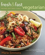 Buy *Fresh & Fast Vegetarian: Recipes That Make a Meal* by Marie Simmons online
