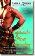 Buy *A Highlander Never Surrenders* by Paula Quinn online