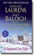 Buy *It Happened One Night* by Stephanie Laurens, Mary Balogh, Jacquie D'Alessandro and Candice Hern online
