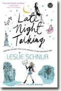 Buy *Late Night Talking* by Leslie Schnur online