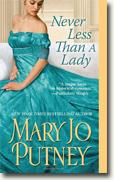Buy *Never Less Than a Lady (Lost Lords)* by Mary Jo Putney online