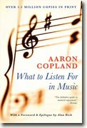 Buy *What to Listen for in Music* by Aaron Copland online
