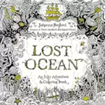 *Lost Ocean: An Inky Adventure and Coloring Book for Adults* by Johanna Basford