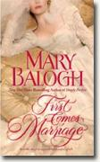 Buy *First Comes Marriage* by Mary Balogh online
