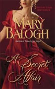 Buy *A Secret Affair (Huxtable Quintet, Book 5)* by Mary Balogh online