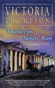 Buy *Murder on Sisters' Row (Gaslight Mystery)* by Victoria Thompson online