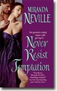 Buy *Never Resist Temptation* by Miranda Neville online