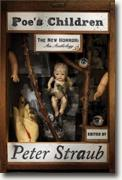 *Poe's Children: The New Horror - An Anthology* by Peter Straub, editor