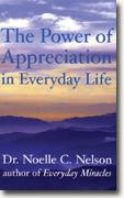 Buy *The Power of Appreciation in Everyday Life* by Noelle Nelson online