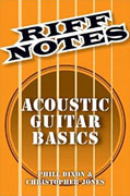*Riff Notes: Electric Guitar Basics* by Phil Dixon and Christopher Jones