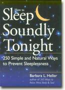 buy *How to Sleep Soundly Tonight: 250 Simple and Natural Ways to Prevent Sleeplessness* online