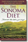 Buy *The Sonoma Diet: Trimmer Waist, Better Health in Just 10 Days* by Dr. Connie Gutterson, PhD online