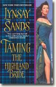 Buy *Taming the Highland Bride* by Lynsay Sands online