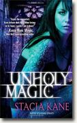*Unholy Magic (Downside Ghosts, Book 2)* by Stacia Kane