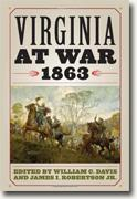 Buy *Virginia at War, 1863* by William C. Davis and James I. Robertson, Jr. online