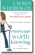 Buy *Everyone Worth Knowing* by Lauren Weisberger online