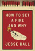 Fiction review: *How to Set a Fire and Why* by Jesse Ball